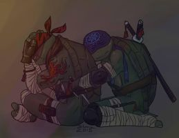 (TMNT) I'm here... by Pax77Vibiscum7Astras