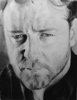 Russell Crowe by X-TeO-X