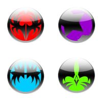 Kiss Icons, Buttons or Whatever by lWarMachinel