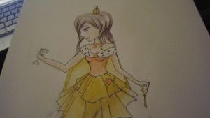 Unfinished Cardverse Nyotalia: France by Liddellhat