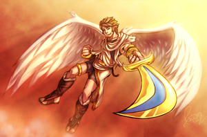 Man Icarus by Omegaro