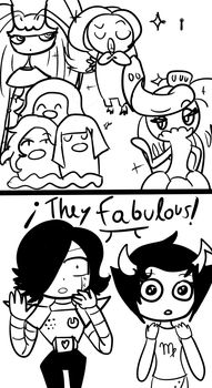 Pokemon, Undertale and Homestuck: THEY FABULOUS by CuteXiora