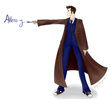 The tenth Doctor by MorwenHelyanwe