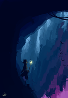 Caverns by SteedAngus