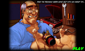 teddy's toybox repair shop - Mike the Mechanic by hershey990