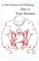 30 Day Challenge - True Monster by Bostonology