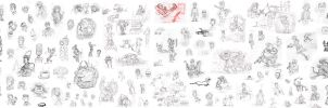 2011 doodles Madness by LeSam