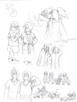ItaDei Sketch Dump by BlackCats-Bell