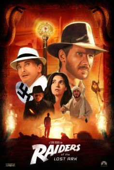 Raiders of the Lost Ark Poster by brockchandler