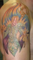 Priest Tattoo - Session IV by Joytoy