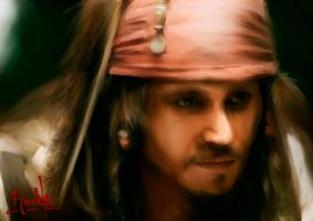 Jack Sparrow by gerky-art
