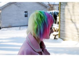 Rainbow Hair by Rinachur