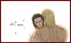 Thor x Loki: He's mine. by hiyade