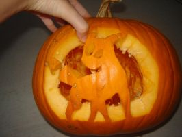 Pokemon Pumpkin carving by Novanet