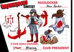 Kill La Nuzlocke Contest: Nina Aarden - TWO STAR by ky-nim
