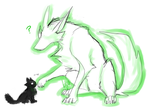 Bec and mutant kitten by angelblood