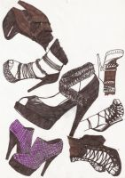 and more shoes.. by deehumidifier