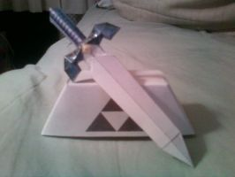 mastersword papercraft out by fmaXp3rt