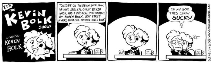 The Me Show starring Me by kevinbolk