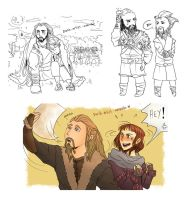Hobbit Dump VII (Of fics and inspiration) by Durch-Leiden-Freude