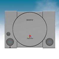PlayStation 1 Console by KnightRanger