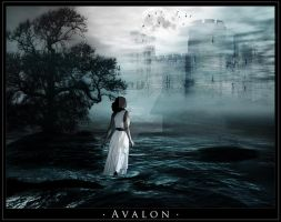 Avalon in the Mists by Peachymunkie