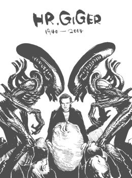 RIP GIGER by MCfrog