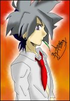 Kai Hiwatari Colour x1 by Dark-Angel15-2010