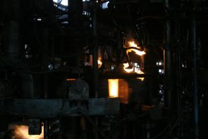 Glass Factory Stock Photo #13 by croicroga