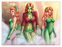3 Ivy's are better than 1 by ChrisSummersArts