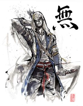 Assassin's Creed Sumie style... by MyCKs