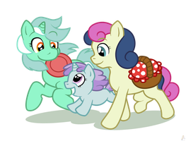 Musical Candy Picnic by raygirl