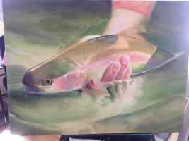 Trout WIP by whitneyw