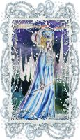 Diana as the Snow Queen by InkyRose