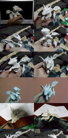 Zerali [young dragon sculpture] by kogoro-Inc