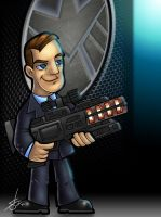 Coulson - ver. 2.0 (color) by scruffyzero