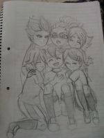 Ina11/SP: Endou's couples by Abyzz01