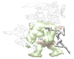 AVENGERS ASSEMBLE WIP by AnthonyTAN7775