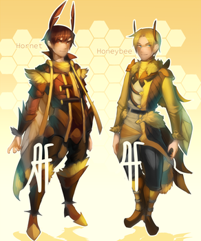 [OPEN OTA] IT'S HIP TO ADOPT BEES by 3-X-E