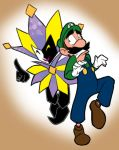 Luigi and Dimentio by Cacio044