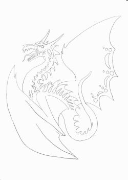 Daragus The Insane - Lineart by Morthax
