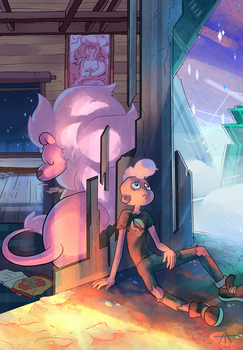 Lars and Lion by Hell-Alka