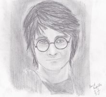 Dan Radcliffe as Harry Potter by Mokaaii