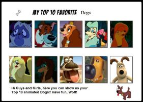 10 Favorite Dogs by irfandy-simpson