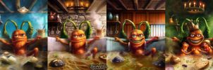 Lord of the soup (evolution) by moonxels