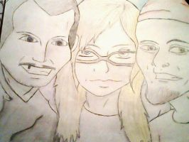 Me, Ehren, And Dico by TheyCallMeDanger