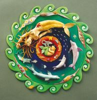 Mermaid Mandala by jessica-romero