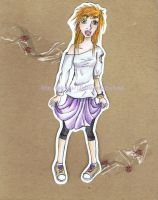 TheRedHead PaperDoll by Stokrotka777lalala