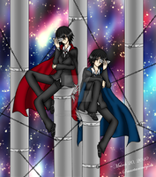 .:Kamen ft. Ike and Insung:. by Smartanimegirl