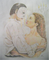 Phantom of the opera by Nislande